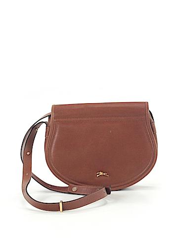 Longchamp Leather Crossbody Bag One Size
