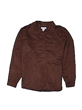 Cherokee Long Sleeve Button-Down Shirt Size XL