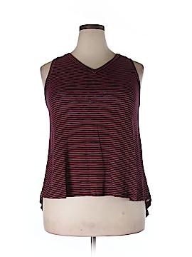 Ava & Viv Sleeveless Blouse Size 0X (Plus)