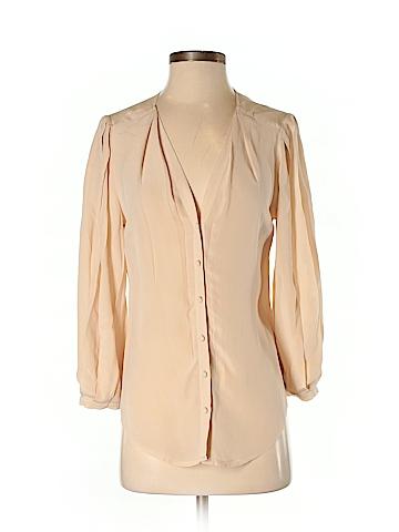 Odille Long Sleeve Silk Top Size 2