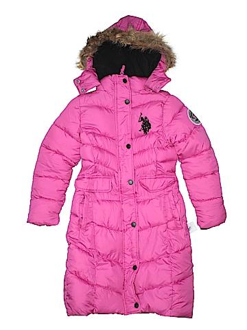 U.S. Polo Assn. Coat Size 6X