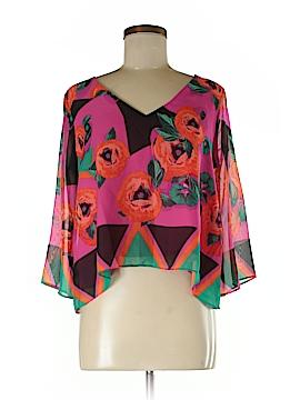 Bisou Bisou 3/4 Sleeve Blouse Size XS