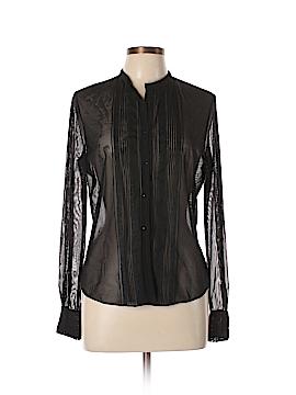 Elie Tahari Long Sleeve Blouse Size L
