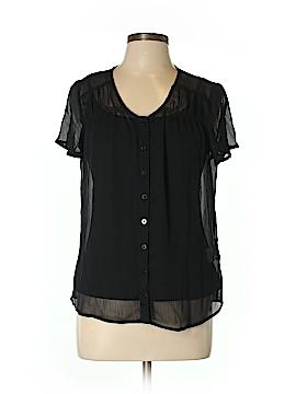 Covington Short Sleeve Blouse Size L (Petite)