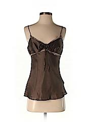 Giorgio Armani Women Sleeveless Silk Top Size 40 (IT)