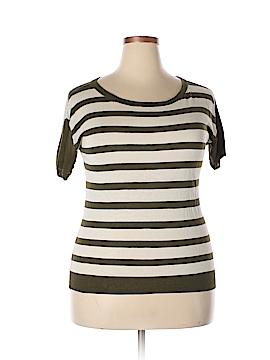 J. Crew Short Sleeve Silk Top Size XL