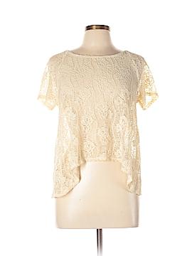 Sans Souci Short Sleeve Blouse Size L
