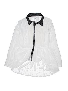 Olsenboye Long Sleeve Blouse Size M