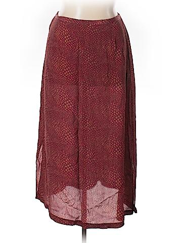 Karen Scott Silk Skirt Size XL
