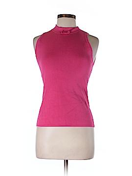 U-Knit Sleeveless Silk Top Size M