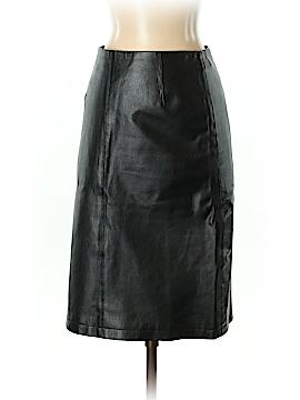 Chadwicks Faux Leather Skirt Size 4