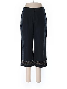 Coldwater Creek Linen Pants Size 8