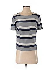 Amanda Uprichard Women Short Sleeve Silk Top Size P