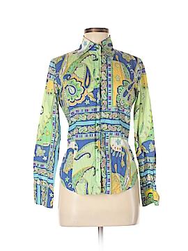 ETRO Long Sleeve Button-Down Shirt Size 12
