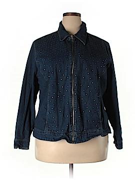 Cathy Daniels Denim Jacket Size 1X (Plus)