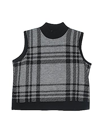KAREN LESSLY Sweater Vest Size L