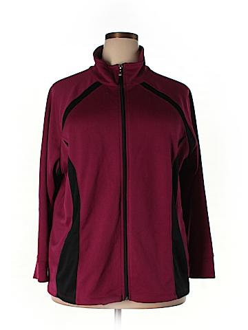 Liz & Me for Catherines Track Jacket Size 2X (Plus)