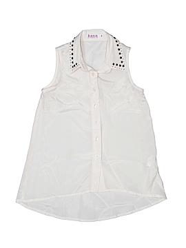 Kana Sleeveless Blouse Size 8