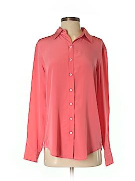 J. McLaughlin Long Sleeve Silk Top Size XS