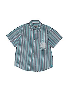 Urban Short Sleeve Button-Down Shirt Size 8