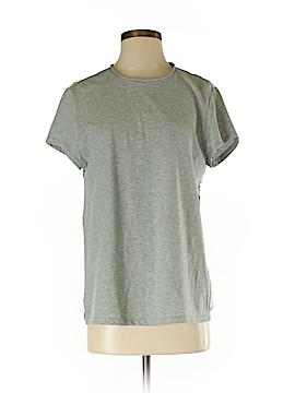 Pink Tartan Short Sleeve Top Size S