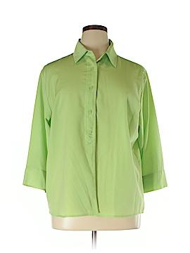 Southern Lady 3/4 Sleeve Blouse Size XL