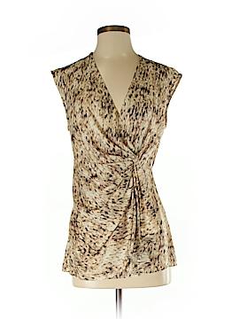 Nic + Zoe Short Sleeve Silk Top Size S