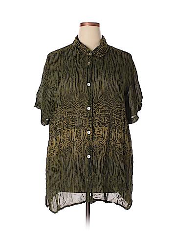 Avenue Short Sleeve Blouse Size 24 (Plus)