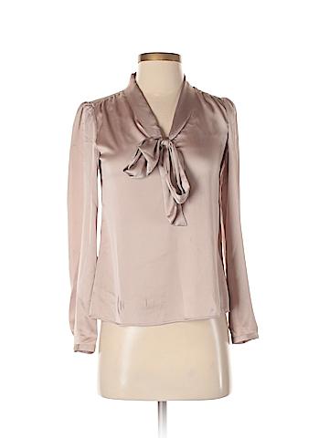 Ann Taylor LOFT Long Sleeve Blouse Size XXS (Petite)