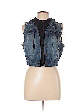 Delia Denim Vest Size L