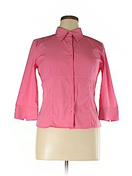 Scott Taylor 3/4 Sleeve Blouse Size L (Petite)