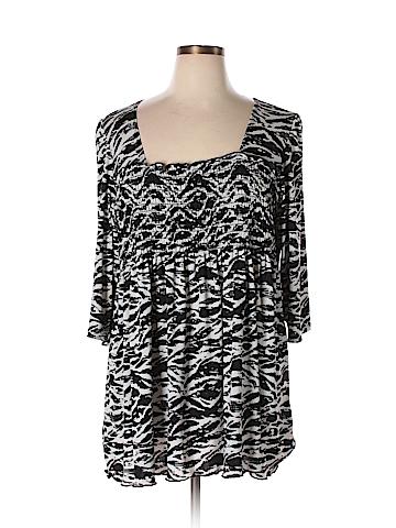 Avenue 3/4 Sleeve Blouse Size 22 - 24 Plus (Plus)