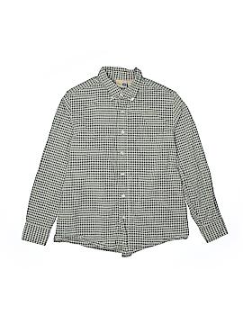 JK Kids Long Sleeve Button-Down Shirt Size M (Youth)