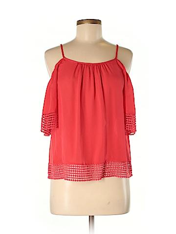 Parker Short Sleeve Blouse Size M