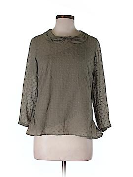 Wrap 3/4 Sleeve Blouse Size 36 (EU)