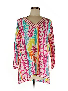 Gretchen Scott Designs 3/4 Sleeve Blouse Size L