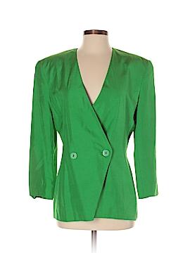 Linda Allard Ellen Tracy Silk Blazer Size 2