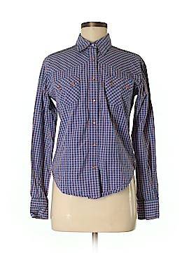 Cruel Girl Long Sleeve Button-Down Shirt Size M