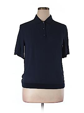 Monoprix Autre Ton Short Sleeve Blouse Size 44 (FR)