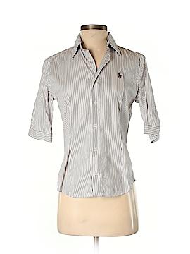 Ralph Lauren Blue Label Short Sleeve Button-Down Shirt Size 6