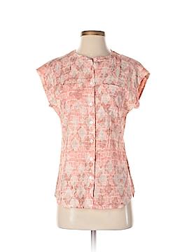 Van Heusen Short Sleeve Button-Down Shirt Size XS