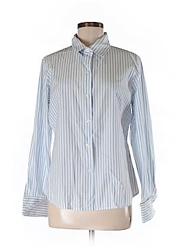 Alfani Long Sleeve Button-Down Shirt Size M