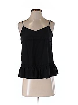 The Man Repeller x PJK Sleeveless Silk Top Size S
