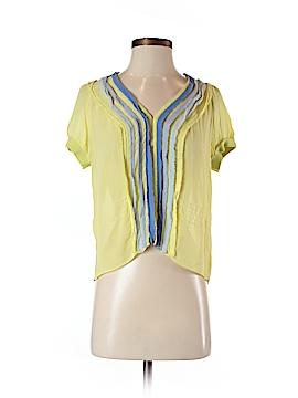 Armani Exchange Short Sleeve Silk Top Size L