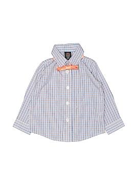 Dockers Long Sleeve Button-Down Shirt Size 6-9 mo