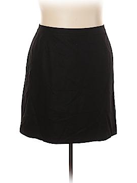 Jessica London Wool Skirt Size 24 (Plus)