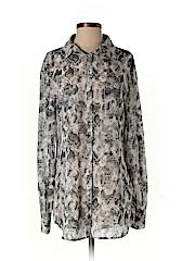 Kardashian Kollection Women Long Sleeve Blouse Size M