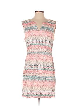Color Block Casual Dress Size M