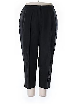 Talbots Linen Pants Size 24 (Plus)