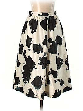 Whit Silk Skirt Size 0